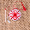 Martisor lucrat manual din lana